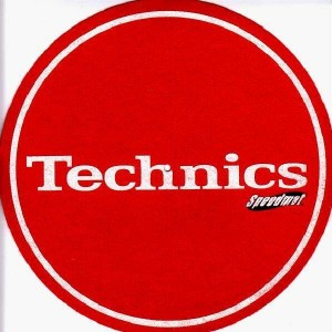 Technics - Red Speedmat - Slipmats