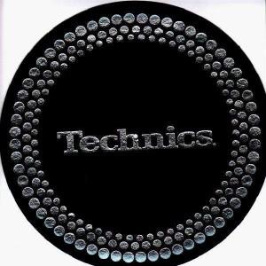 Technics - Silver dots - Slipmats