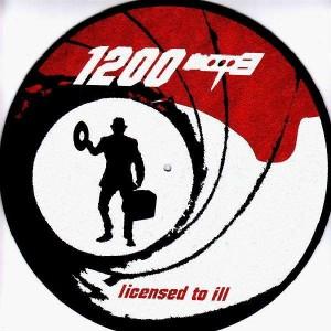 Technics - 1200 Licensed to ill - Slipmats