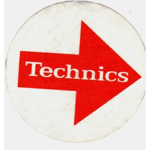 Technics - White Arrows - Slipmats