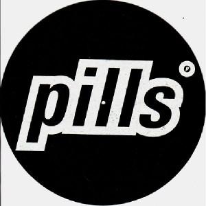 Pills - Black & white - Slipmats