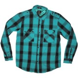 LRG Shirt - Big Game L/S Woven - Turquoise