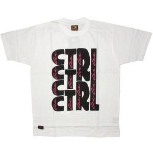CTRL T-shirt - 1234 - White