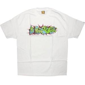 THE 7TH LETTER T-shirt - Graff - White