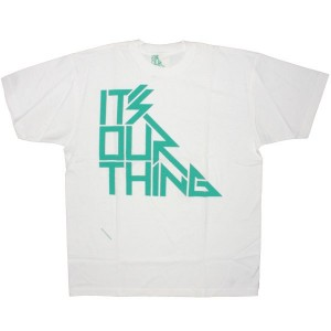 ITS OUR THING T-shirt - Logo - White