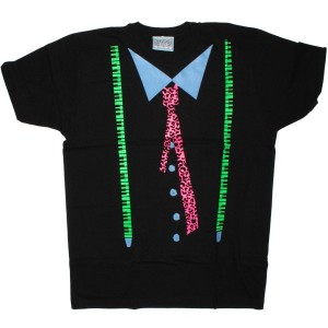 LAZY OAF T-shirt - Music Brace - Black