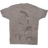 BEAUTIFUL DECAY T-shirt - Heavy Drummer - Dove Grey