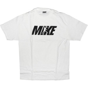 MIKE T-shirt - Logo Joints - White