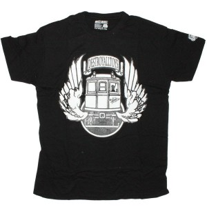 DESTROY ALL TOYS T-shirt  - Dat Train - Black