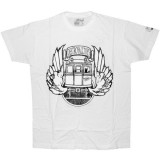 DESTROY ALL TOYS T-shirt  - Dat Train - White