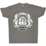 DESTROY ALL TOYS T-shirt  - Dat Train - Grey