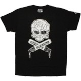 DESTROY ALL TOYS T-shirt  - Skull & Bones - Black