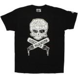 DESTROY ALL TOYS T-shirt  - Skull & Bones - Black
