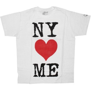 DESTROY ALL TOYS T-shirt  - NY loves me - White