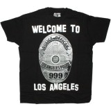 DESTROY ALL TOYS T-shirt  - Welcome to LA - Black