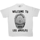 DESTROY ALL TOYS T-shirt  - Welcome to LA - White