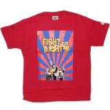 DESTROY ALL TOYS T-shirt  - Fight for rights - Red