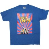 DESTROY ALL TOYS T-shirt  - Fight for rights - Blue