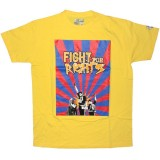 DESTROY ALL TOYS T-shirt  - Fight for rights - Yellow