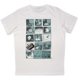 Scratch Science T-shirt - Round Rock - White