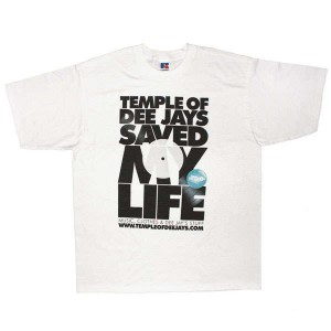 Temple Of Deejays - Saved my life - White