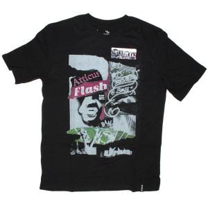 Atticus T-shirt - Popoghanda basic tee - Black