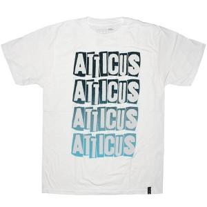 Atticus T-shirt - Letterbox slim tee - White