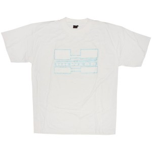Double H Wear T-Shirt - White HH Wear Turntable