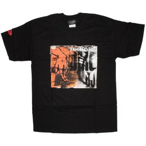 Technics T-Shirt - Black DMC DJ Hand Big