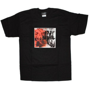 Technics T-Shirt - Black DMC DJ Hand Small