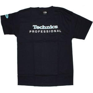 Technics T-Shirt - Navy blue Technics Professional logo