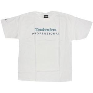 Technics T-Shirt - White Technics Professional logo