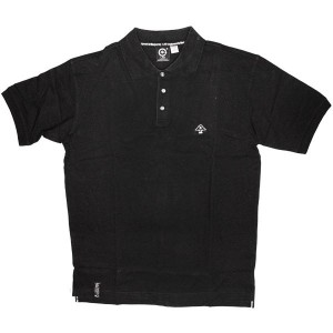 LRG Polo - Grass Roots Polo - Black