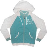 LRG Zipped Hoodie - Sound Of Silver Zip-Up Hoody - Bachelor Blue
