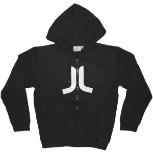 WESC Zipped Hoodie - Icon - Black