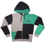 WESC Zipped Hoodie - Klasse - Pale grey