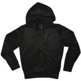 OBEY Zipped Hoodie - Silent Shout - Black