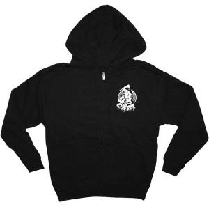 OBEY Zipped Hoodie - Obey Dragon - Black