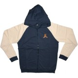WESC Zipped Hoodie - Ashmore - Medium blue