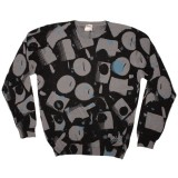 WESC Knitted Sweater - Stash paint nozzle - Black