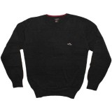 ATTICUS Sweater - Gleason - Black