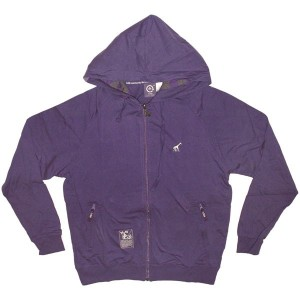 LRG Jacket - Grass Roots Layering Zip-Up - Purple