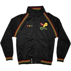 LRG Jacket - Deeper Roots Track Jacket - Black
