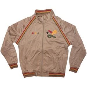 LRG Jacket - Deeper Roots Track Jacket - British Khaki