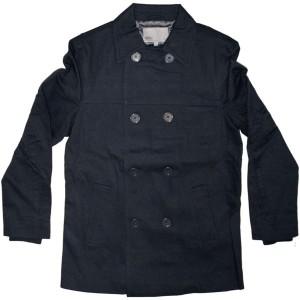 WESC Pea Coat - Pontus coton - Blue Iris