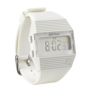 PA:NUU Watch - Bandit - White / White