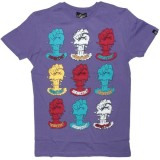 PA:NUU T-shirt - Gavin Tee - Purple