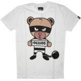 PA:NUU T-shirt - Gangster Tee - White