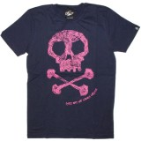 PA:NUU T-shirt - George Tee - Navy blue