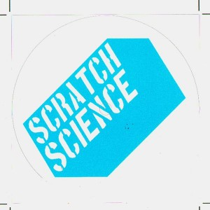 Sticker Scratch Science - Macaron Blue Scratch Science Logo x4
